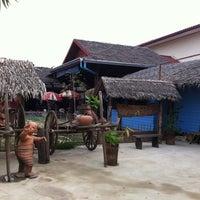 Photo taken at Talard Kong Khong by Kai S. on 1/28/2012
