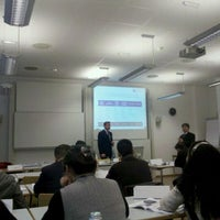 Photo taken at Frankfurt School of Finance & Management by dhlyw2002 on 11/29/2011