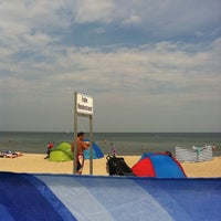 Photo taken at Strand Baabe by Kay S. on 8/17/2011