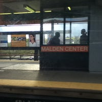 Photo taken at MBTA Malden Center Station by Mike C. on 5/5/2011