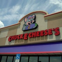 Photo taken at Chuck E. Cheese's by Cheryl B. on 6/10/2012