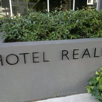 Photo taken at Hotel Realm by Jamie T. on 1/6/2012