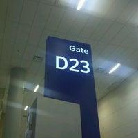Photo taken at Gate D23 by Chris W. on 9/30/2011