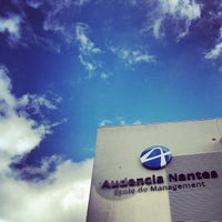 Photo taken at Audencia Business School by Tiziano T. on 9/11/2012