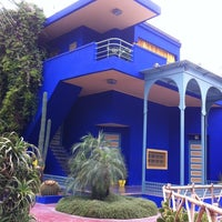 Photo taken at Jardin de Majorelle by Alex H. on 7/7/2012