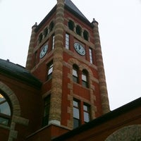 Photo taken at Thompson Hall by Jason B. on 3/29/2011