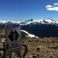 Photo taken at Whistler Mtn. Peak by Gerard R. on 8/4/2012