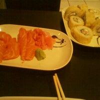Photo taken at Sushi Face by Tamara L. on 7/24/2012