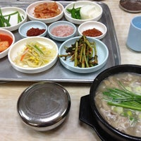 Photo taken at 장터국밥 by beerntv on 8/9/2012