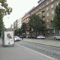Photo taken at Ortenovo náměstí (tram) by Marie m. on 9/7/2011
