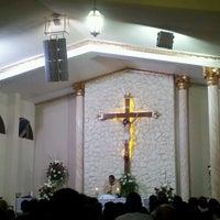 Photo taken at Igreja Nossa Senhora do Perpetuo Socorro by Allexander S. on 8/19/2012