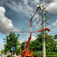 Photo taken at นิคมอุตสาหกรรมภาคเหนือ จ.ลำพูน by กอล์ฟ v. on 6/30/2012
