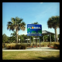 Photo taken at Florida Welcome Center (I-75) by Melissa R. on 5/5/2012