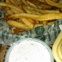 Photo taken at Wingstop by Amy D. on 9/2/2012