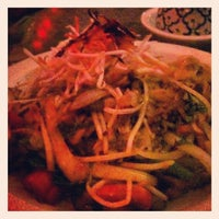 Photo taken at Lemongrass Thai Cuisine by Nick A. on 9/13/2012