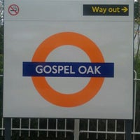 Photo taken at Gospel Oak London Overground Station by Gbenga M. on 5/19/2012