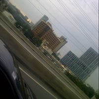 Photo taken at Alabang Flyover by Bryan O. on 7/10/2012