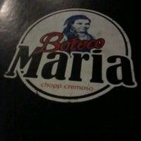 Foto tirada no(a) Boteco Maria por Andreza F. em 5/1/2012