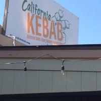 Photo taken at California Kebab by Justin C. on 3/3/2012