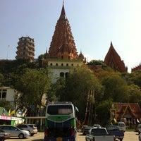 Photo taken at Wat Tham Sua by Thetepornn T. on 4/14/2012