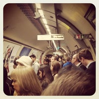 Photo taken at Embankment London Underground Station by Duncan G. on 5/21/2012