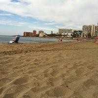 Photo taken at Playa Santa Ana by Ksenia S. on 6/4/2012