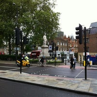 Photo taken at Sir Hugh Myddelton Statue by PoP O. on 7/3/2012