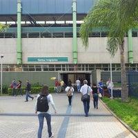 Photo taken at Estação Santos-Imigrantes (Metrô) by Waldemar S. on 4/2/2012