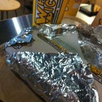 Photo taken at Which Wich? Superior Sandwiches by Courtney S. on 5/24/2012