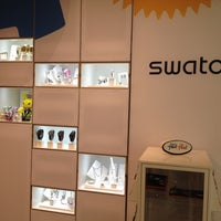 Photo taken at Swatch by Lee H. on 3/10/2012