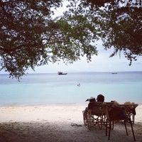 Photo taken at Haad Tien Beach Resort by Steeve H. on 8/30/2012