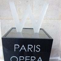 Photo taken at W Paris – Opéra by Sabrina C. on 6/23/2012