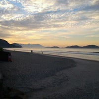 Photo taken at Praia de Juquehy by Andre O. on 3/17/2012
