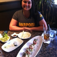 Photo taken at Fin's Sushi & Grill by Wendy F. on 4/29/2012