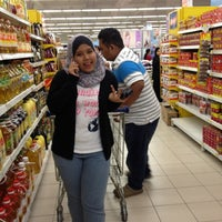 Photo taken at Tesco Hypermarket by Fara Z. on 3/1/2012