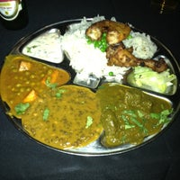 Photo taken at Gandhi India's Cuisine by Hiroshi H. on 4/16/2012