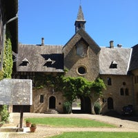 Photo taken at Abbaye Notre-Dame d'Orval by Colijn V. on 8/1/2012