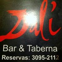 Photo taken at Dali Bar & Taberna by Barbara B. on 2/19/2011