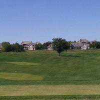 Photo taken at Tiffany Greens Golf Club by Chase D. on 10/3/2011