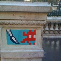 Photo prise au Space Invader - Pixel Art par _Lyl_ le10/21/2011