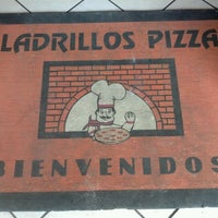 Photo taken at Ladrillos Pizza by Pedro C. on 5/26/2012