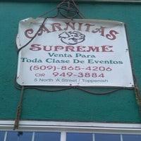 Photo taken at Carnitas Supreme by Heather H. on 10/23/2011
