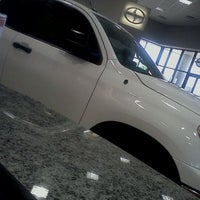 Photo taken at San Marcos Toyota by Maria E. on 10/15/2011