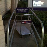 Photo taken at FedEx Ship Center by Angela on 12/29/2011