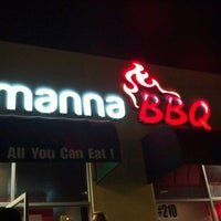 Photo taken at Manna BBQ by Mark A. on 5/13/2012