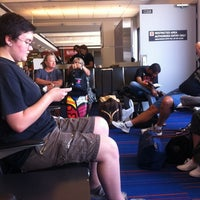 Photo taken at Gate C29 by Steve F. on 7/1/2012