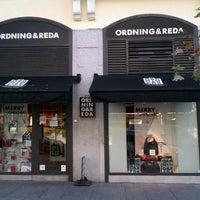 Photo taken at ORDNING&REDA SPAIN by Carmen I. on 12/21/2011