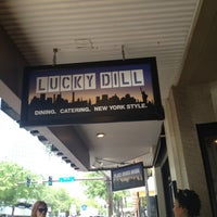 Photo taken at Lucky Dill Deli by Andy on 6/4/2012