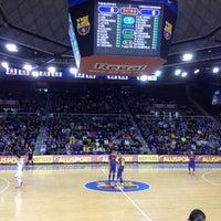 Photo taken at Palau Blaugrana by Pol M. on 4/6/2012