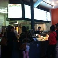 Photo taken at Mezza Lebanese Kitchen by Ashlee F. on 5/21/2012